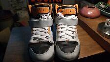 Osiris NYC 83 High Top Skate Sneakers Men's Size 13 Black, Orange & White