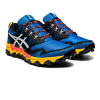Asics Mens Gel-FujiTrabuco 8 Trail Running Shoes Trainers Sneakers Black Blue