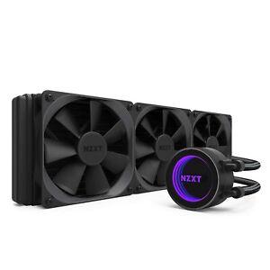 NZXT Kraken X72 360 mm AiO RGB Wasserkühlung CAM-Unterstützung - Infinity Mirror