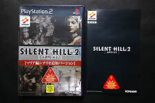 SILENT HILL 2 Director's Cut Playstation2 PS2 JAPAN Very Good Condition