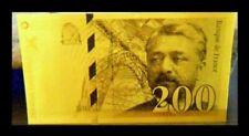 Billets de 200 francs français sur St Exupéry