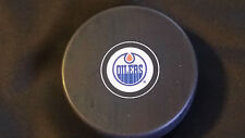 Edmonton Oilers Official NHL Licensed In Glas Co autograph Puck