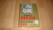 THE LEGEND OF ZELDA NINTENDO NES EUROPEAN ENGLISH VER. PAL B NEW FACTORY SEALED