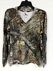 Field & Stream Women's Long Sleeve Realtree Xtra Tee Shirt, Size S - 9P_78