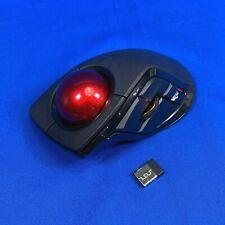 Elecom M-DPT1MRXBK Mouse Trackball Wireless DEFT PRO Index Finger Operation NICE