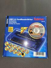 Hama CardReaderWriter USB 2.0 - 9 in 1