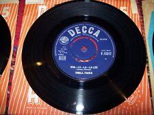small faces - sha la-la-la-lee - grow your own...1966 decca 45