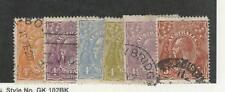 Australia, Postage Stamp, #31-36 Used, 1915-1924