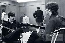 THE BEATLES Paul McCartney John Lennon BACKSTAGE 1966 LIMITED EDITION Photograph