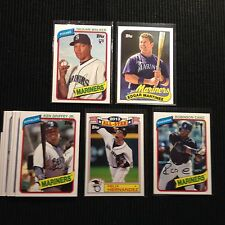2014 TOPPS ARCHIVES SEATTLE MARINERS SP TEAM SET 11 CARDS  KEN GRIFFEY JR +