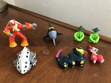2003-2004 Hasbro Pokemon Figure Lot Of 7 Hasbro Stamped Rare