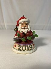 Enesco Jim Shore Heartwood Creek 7th Annual Dated Santa 2019 Item 6005372Q