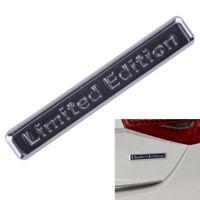 Limited Edition Auto Emblem Badge Metall Schwarz Abzeichen Aufkleber Sticker NEU