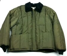 Vintage Samco Sportswear Green Insulated Refrigerator Freezer Jacket XXL 2XL