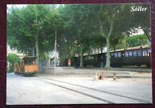 Picture Postcard Mallorca Spain Soller Train Line Platform