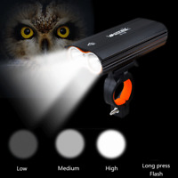 Rechargeable 1600 Lumens Dual LED BICYCLE Waterproof Super Bright USB Bike Light