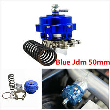 50mm Universal Blue 35 PSI Car V Band Blow Off Valve Bov Intercooler Turbo Boost