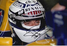 Riccardo Patrese Hand Signed 12x8 Photo Canon Williams F1 2.