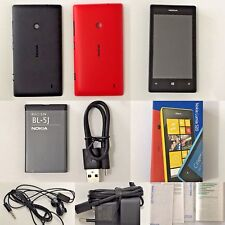 Nokia Lumia 520 8GB Black Red Unlocked Simfree Nokia 520 Windows Phone