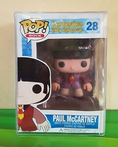 Funko Pop Beatles Paul McCartney ORIGINAL Retired Vinyl Figure *Damaged Box