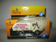 MERCEDES UNIMOG RALLYE SOLIDO RACING 1912 SCALA 1:43