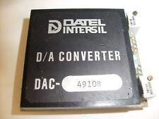 DATEL INTERSIL D/A  CONVERTER  DAC 4910B /  R1