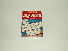 "Vintage Waddingtons ""My Word"" card game 1983.."