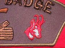 ANTELOPE Wood Badge Course Patch Scout beads CSP