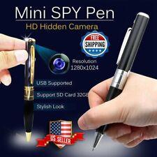 Mini Camera Pen USB Hidden DVR Camcorder Video Audio Recorder Full HD 1080P 2020
