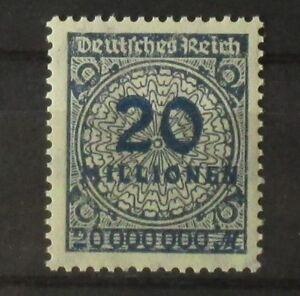 Deutsches Reich, Mi.Nr. 319 Wb, tadellos **, geprüft, Mi. 40,-€