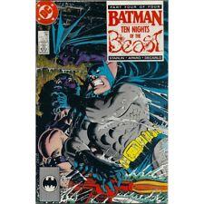 Batman #290 DC Detective Comics June 1988 Ten Nights of the Beast Part 4 comic