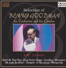 Benny Goodman his orchestra his Combos selection of 1996 DOPPIO CD