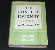 THE LONGEST JOURNEY by E M Forster Hardcover/DJ First Edition Knopf 2nd Printing
