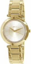 DKNY Women's NY2286 'Staphone' Crystal Gold-Tone Stainless steel Watch
