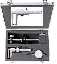 Aimant - stand avec comparateur et FREIN ÉTRIER dans le coffre en aluminium NEUF