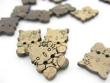 20pieces Coco Hello Kitty Hermoso botón Kids Especial interesante forma de botón