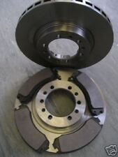 SHOGUN SPORT FRONT BRAKE DISCS AND PADS 2.5 1998-2006 (276mm) NEXT DAY DELIVERY