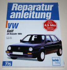 Reparaturanleitung VW Golf 2 / II C, CL, GL, Carat, GTI, ab Baujahr 1984