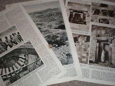 Photo article ruins of medieval Bethlehem Chutrch Gondor Ethiopia 1957
