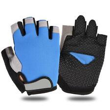 Cycling Anti-Slip Men Women Half Finger Gloves Breathable Mesh Sports Glove L-XL