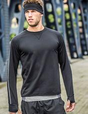 Lange-Ärmel Herren-Sport-T-Shirts mit Reflektoren