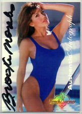 Brooke Morales 1997 BENCHWARMER AUTOGRAPH CARD 3 of 12 Signed Auto Model Cheerle