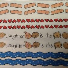 """12"""" Borders LAUGHTER IS BEST MEDICINE SCRAPBOOKING Stickers by Me & My Big Ideas"""