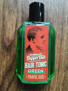 Dapper Dan Hair Tonic Green Travel Size 100ml                      100ml=7,95E