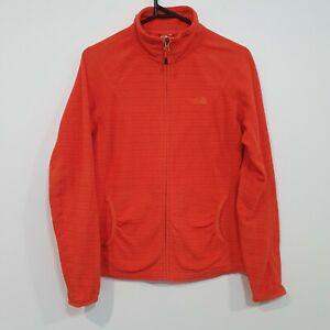 The North Face Womens Polartec Lightweight Fleece Jacket Coral Size Medium