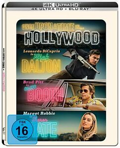 Once Upon A Time In… Hollywood [4K UHD Blu-ray + Blu-ray Steelbook/NEU /OVP]