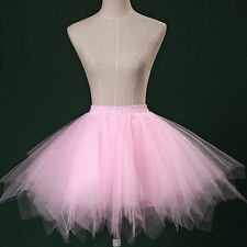 New Girls Short petticoat Dancewear Cute Tutu Pettiskirt Princess Party Skirts