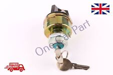 Universal Ignition Starter Switch Barrel With 2 Keys For Car Tractor Trailer