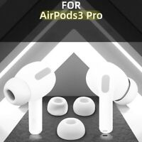 6X Memory Foam Replacement Ear Tips Buds For Apple Airpods Pro Headphones White