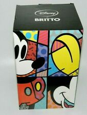 DISNEY MICKEY MOUSE ROMERO BRITTO NEW STATUE 4019372 GREAT COLOR HAND PAINTED